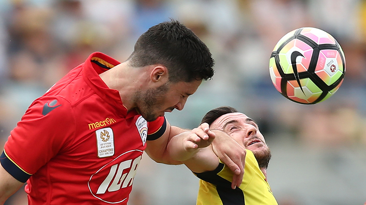 The Reds visit Gosford to take on the Central Coast Mariners on Saturday evening.