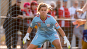 Goalkeeper Eliza Campbell has re-signed for the Reds 2017/18 Westfield W-League campaign.