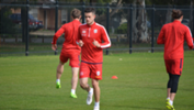 Ben Warland returned to training last week and will look to impress Reds boss Marco Kurz in pre-season.