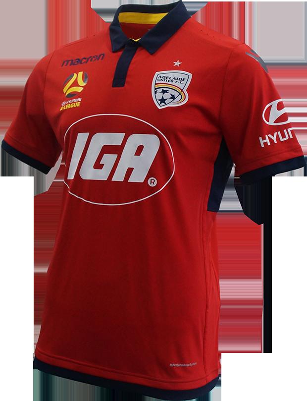 2017/18 Adelaide United Home Kit