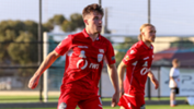 The Young Reds couldn't find the breakthrough in a tight contest away to Cumberland United.
