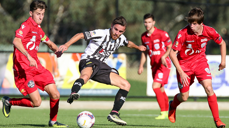 The Young Reds strong start to the first half wasn't enough to overcome the league leaders Adelaide City.