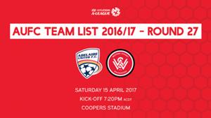 AUFC Team List 2016/17 - Round 27