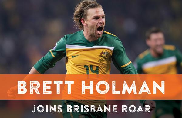 Brisbane Roar signs Brett Holman on a free transfer