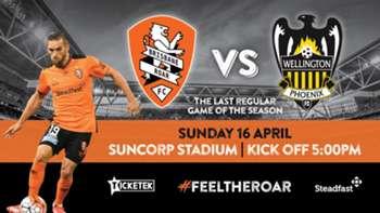 Brisbane's Easter Sunday 18-man #ALeague squad