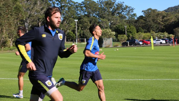 Central Coast Mariners return to training