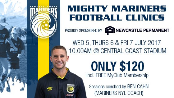 Mighty Mariners Football Clinic