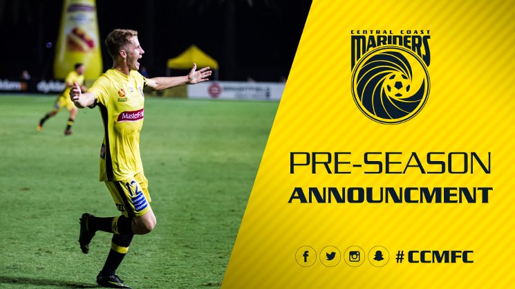 Pre Season Announcement