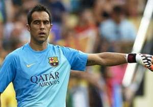 <b>CLAUDIO BRAVO</b> | Barcelona > Manchester City | €20 juta