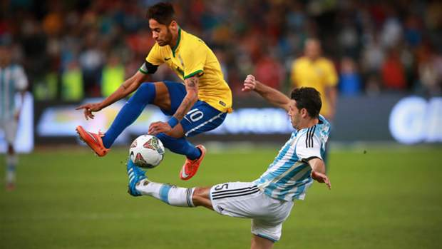 Argentina placed in Group B and Brazil go into Group C for Copa América
