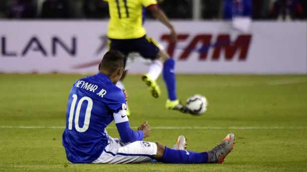 Neymar, cuatro partidos de suspensión en la Copa América