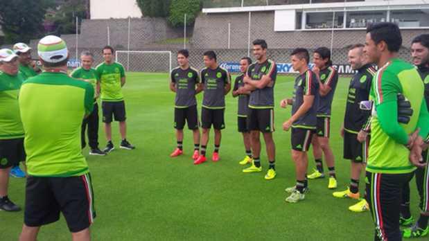 México inició su preparación rumbo a Chile 2015