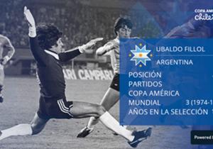 Hubo casi mil votos en el sitio oficial de la Copa América para elegir al mejor equipo de la historia de la Albiceleste. Ubaldo Matildo Fillol. No hubo dudas en la elección del arquero. El Pato dejó en el camino con claridad a Goycochea, Pumpido y Romero.