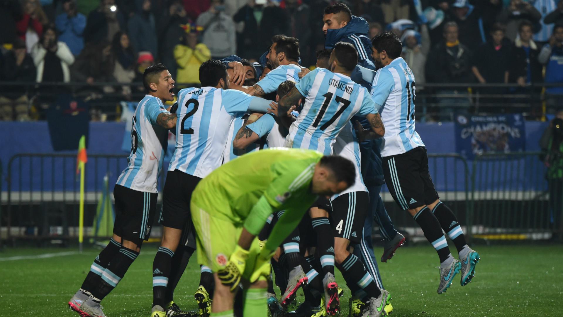 Аргентина – Колумбия – 0:0 (0:0), по пенальти 5:4