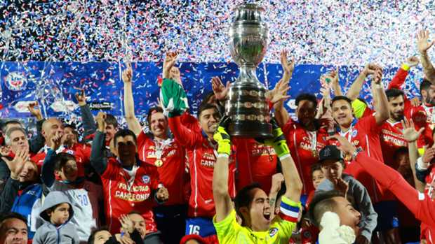 Chile crowned Copa América champions with penalty shoot-out victory over Argentina