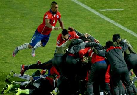 Isla sends Chile into semi-finals