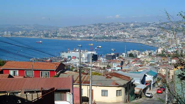 Valparaíso: World Heritage Site welcomes the Copa América