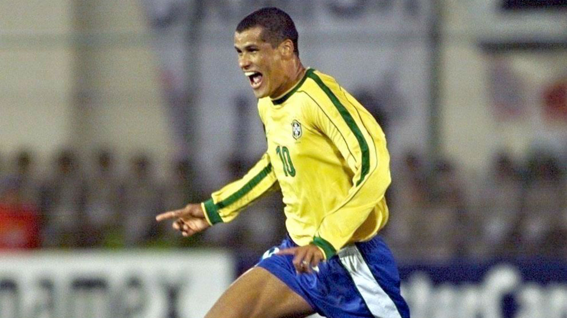 Rivaldo Brazil Copa America 1999 Goal