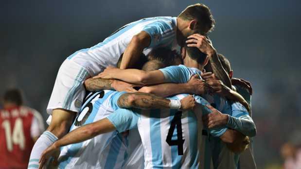 خلاصه بازی آرژانتین 6 - 1 پاراگوئه