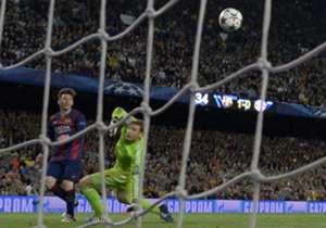 Genio. El segundo gol del argentino es para ver una y otra vez.