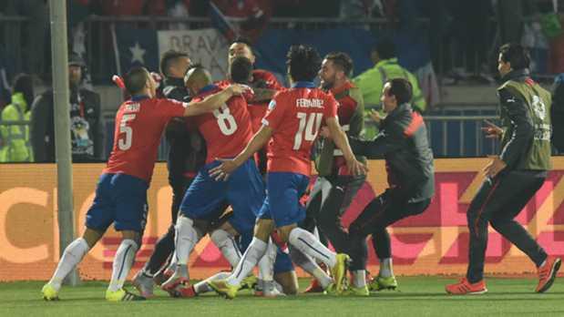 ¡Histórico: Chile se consagró campeón de la Copa América 2015!