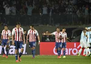 Paraguay perdió 6-1 con Argentina. Así jugó el conjunto de Ramón Díaz.