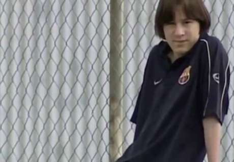 Assim mudou Messi ao longo dos anos