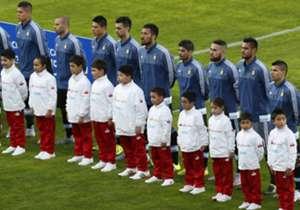 Los once elegidos: estos son los jugadores que salieron a la cancha el día del debut en la Copa América, frente a Paraguay.