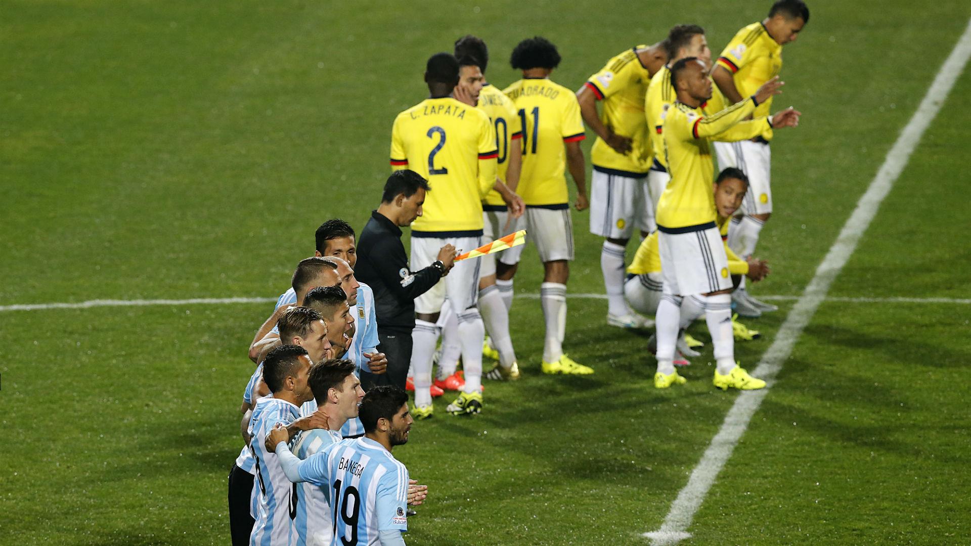 Con gran labor de Lionel Messi, Argentina vence 3-0 a Colombia