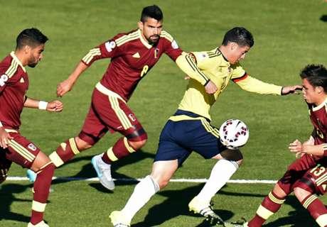 Colombie-Venezuela 0-1 (résumé)