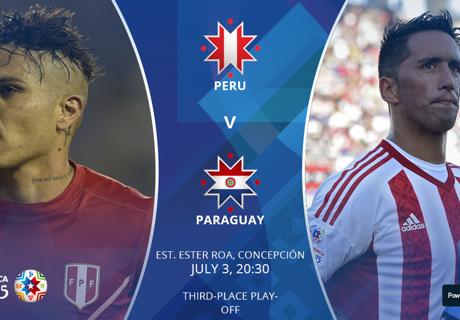 Voorbeschouwing Peru - Paraguay