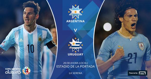 Argentina y Uruguay definen el destino del Grupo B
