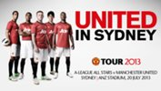 All Stars v Manchester United tickets on sale now
