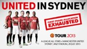 All Stars v Man United pre-sale tickets update