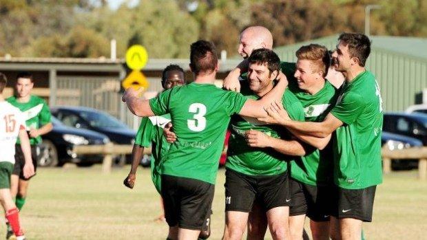 Irymple Knights in a match against Mildura rivals Three Colours