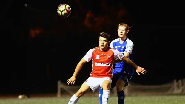 Hakoah Sydney City East went down 2-1 against Wollongong Wolves in the PS4 NSW NPL1. Pic courtesy of Football NSW.