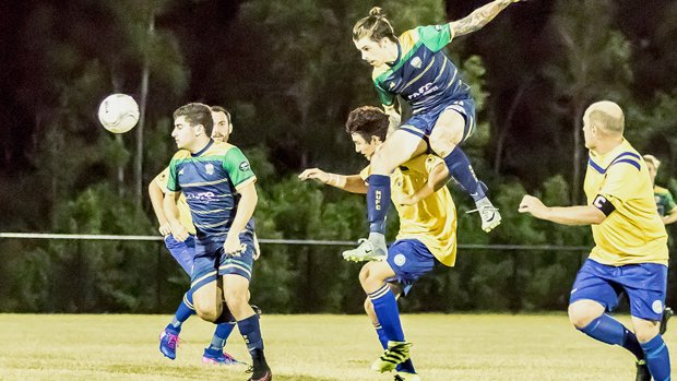 Pine Rivers United won the first Westfield FFA Cup game of the 2017 competition.