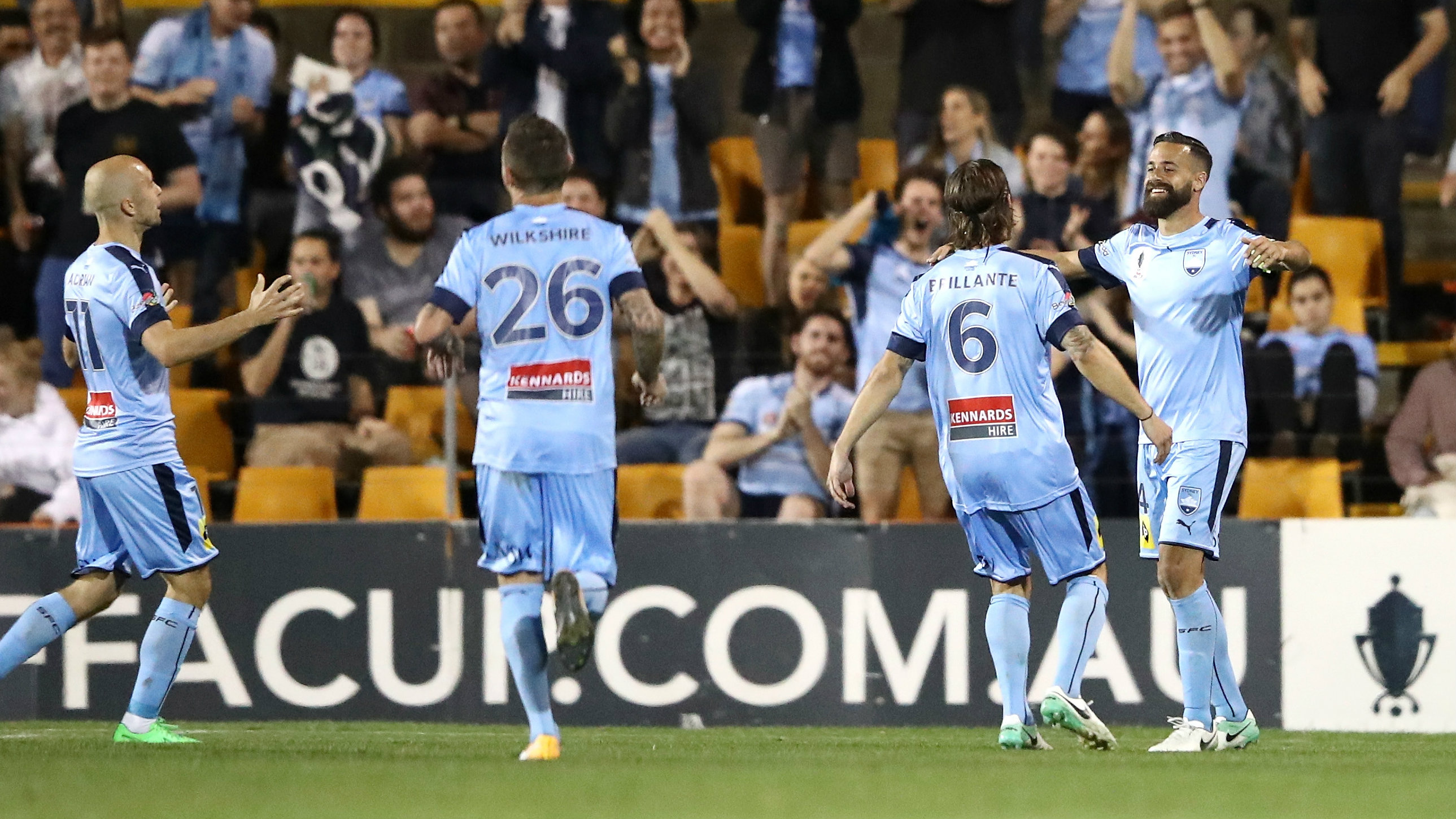 Alex Brosque netted a classy chip in Sydney FC's win over Melbourne City.