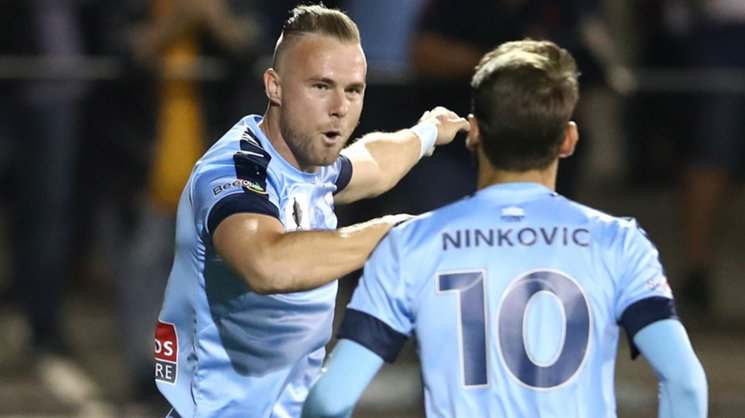 Jordy Buijs fired Sydney FC ahead against Melbourne City with a stunning free kick.