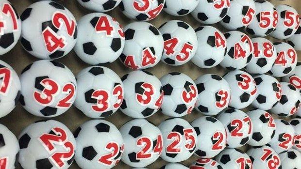 FFA Cup draw balls