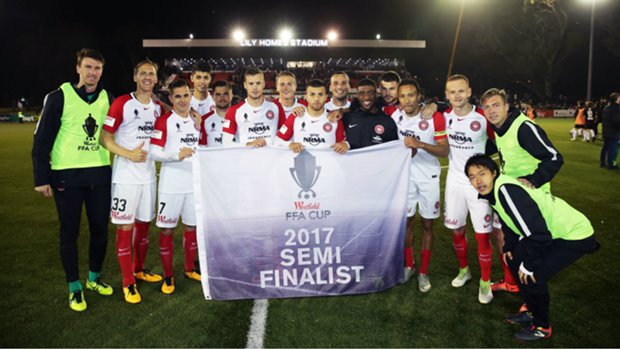 Western Sydney Wanderers will host Adelaide United in the Westfield FFA Cup Semi Finals.