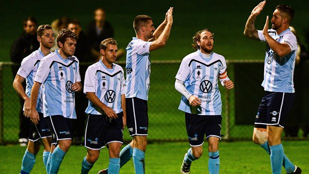 Sorrento FC progressed to the Round of 16 with a 1-0 win over Canberra Olympic.
