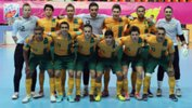 Chris Zeballos as part of the Futsalroos squad