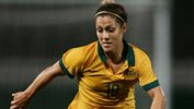 Katrina Gorry in action for the Westfield Matildas.
