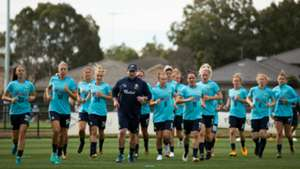 Gallery: Westfield Matildas train ahead of Brazil