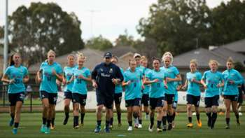 Gallery: Westfield Matildas train ahead of Brazil