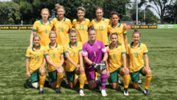 The Westfield Matildas starting XI that played DPR Korea in February.