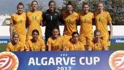 The Westfield Matildas tackle Denmark in the Bronze Medal match at the Algarve Cup.