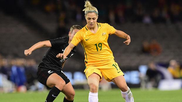 Matildas midfielder Katrina Gorry