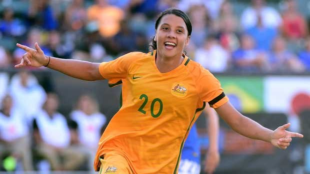 Westfield Matildas star Sam Kerr is enjoying a sublime run of form this year for both club and country.